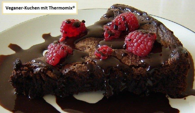 Veganer Kuchen Aus Dem Thermomix Schokoladenkuchen Vegan 1min